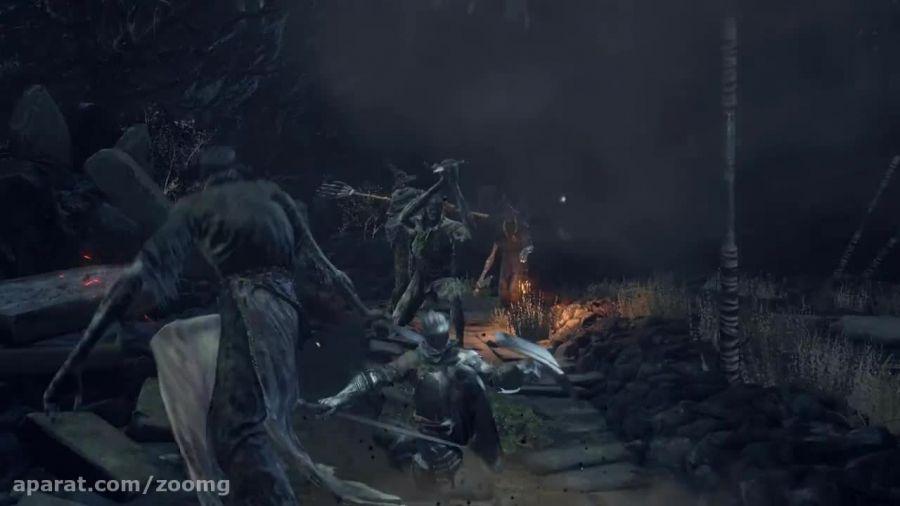 تریلر جدید گیم پلی بازی Dark Souls 3