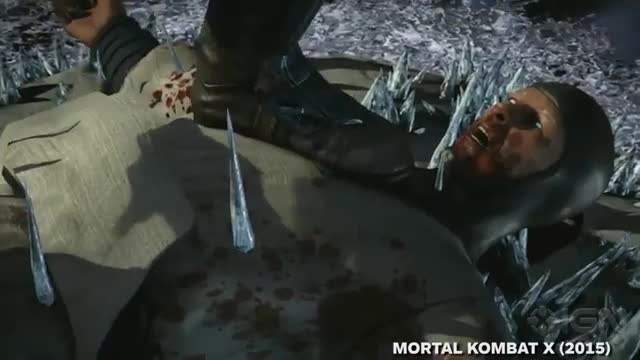Sub-zero All Fatality in Mortal kombat X