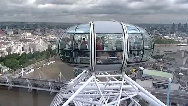 معرفی شهر لندن از بزرگترین چرخ و فلک جهان (چشم لندن)