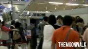 exo در فرودگاه