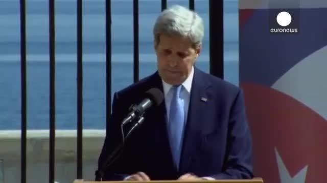 بعد از چندین دهه ، سفارت آمریکا در کوبا بازگشایی شد