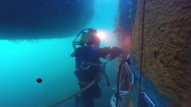 جوشکاری در زیر آب - Hyperbaric welding
