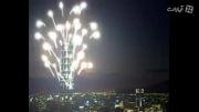 جشنه سال نو میلادی در برج خلیفه دبی