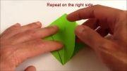 1. Origami Bird Base- اریگامی بر مبنای پرنده