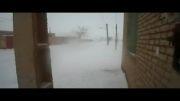 بارش برف در میلاجرد