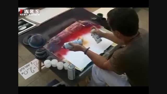 نقاشی چشم نواز در شش دقیقه