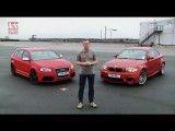 مقایسه آئودی RS3  با ب ام و M1