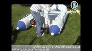 قایق بادی جیمینی 2 نفره بست وی با موتور 2 اسب بخار