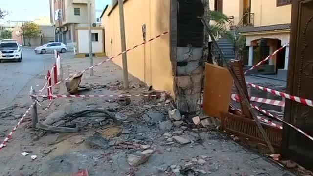 انفجار در سفارت مراکش در لیبی