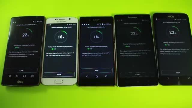 Xperia Z3+ vs Galaxy S6 vs LG G4_ Benchmark Comparison