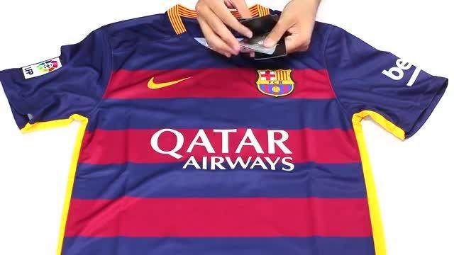 پیراهن اول بارسلونا Barcelona Home 2015-16 Soccer Jerse