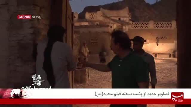 تصاویر جدید از پشت صحنه فیلم محمد(ص)