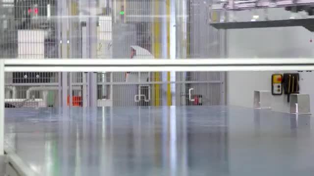خط تولید بی ام و سری 7 مدل 2016 در کارخانه