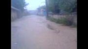 دارابکلا - سیلاب دارابکلا03/07/1392 ساعت 16:30-17:30