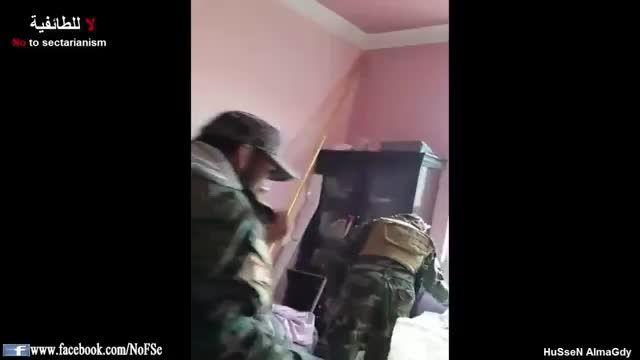 مرکز اطلاع رسانی وانبار مهمات داعش در دست نیروهای مردمی