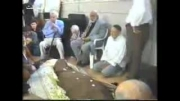 مراسم تشیع جنازه مرحوم حاج احمد دلجو  با حضور مرحوم علامه مداح شادی روحش فاتحه