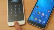 iPhone 6 vs Galaxy S5 - Fingerprint Scanner Comparison