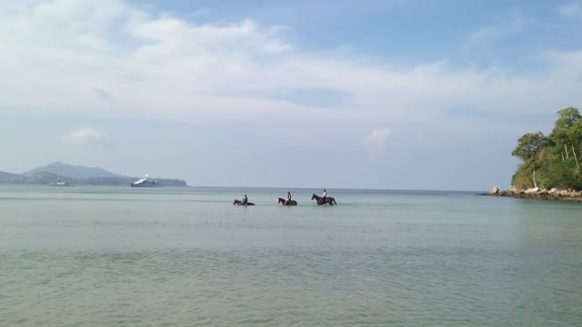 تور سوارکاری در جزیره زیبای پوکت، تایلند