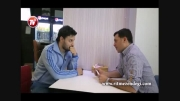 جواد عزتی و پیتزا فروشی  تازه تاسیس اش