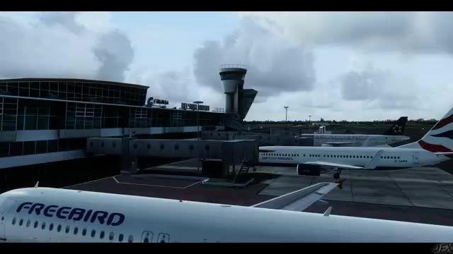 فرودگاه هلسینکی در شبیه ساز الماس