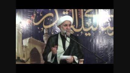 سخنرانی حجت الاسلام حاجتی - شب 21 رمضان 94