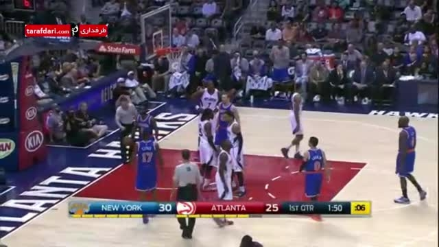 بسکتبال NBA- آتلانتا هاوکس 108-112 نیویورک نیکس