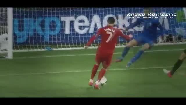شروع رونالدو در فوتبال