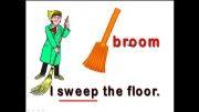 لغت های مربوط به کارهای خانه