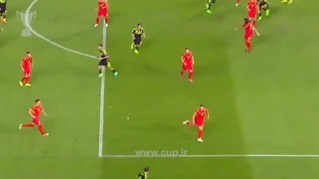 گل خوان ماتا؛ اسپانیا ( 1 ) - مقدونیه ( 0 ) / یورو 2016
