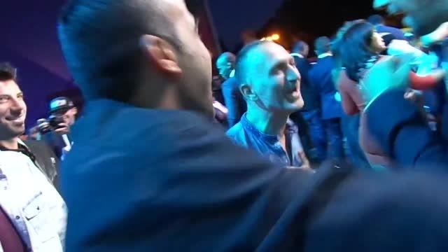 افتخار آفرینی فرزاد فرزین در جشنواره آرت فوتبال