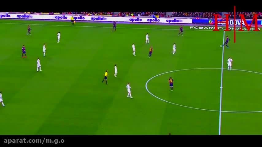جرارد پیکه بهترین مدافع بارسلونا