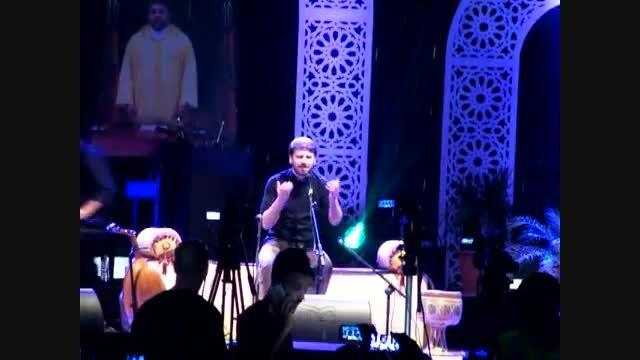 سامی یوسف- اجرای ترانه یا رسول الله در کنسرت تطوان 2015