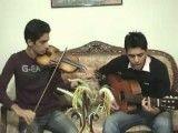 آهنگ ستاره از شادمهر عقیلی با ویولن و گیتار-پویا و هومن-آباده-
