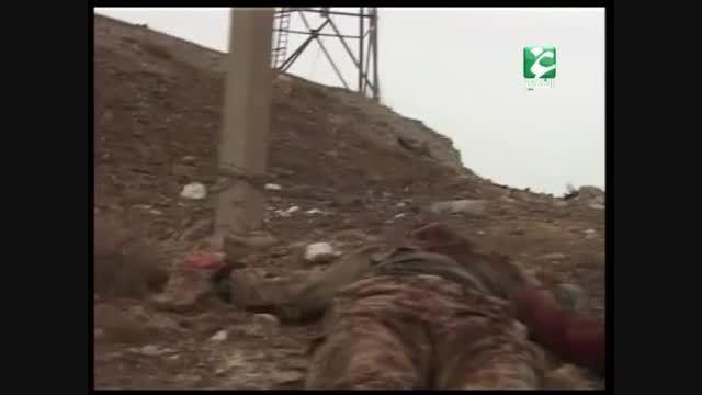 ترکیدن داعشی ها توسط بمب سپاه بدر