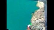 پرش سرهنگ پاینده از پل 97 متری لالی در استان خوزستان