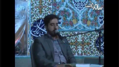 مروست حضور حاج حسن دانش در مراسم شهادت امام حسن تراک دو