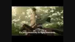 انیمیشن سریالی حمله به تایتان ها قسمت هفدهم فصل اول
