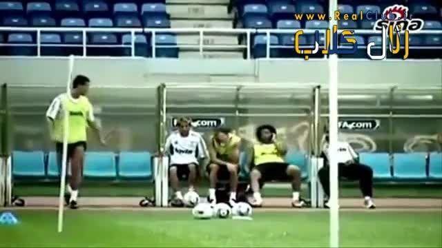 فان رئال مادرید (لحظات خنده دار رئال )