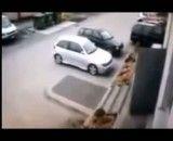 روش جدید پارک کردن خودرو