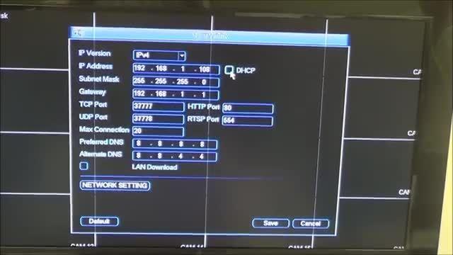 آموزش نصب دوربین مدار بسته IP camera