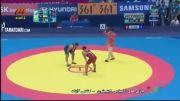 بازی های آسیایی (کشتی - کسب مدال طلا مصطفی جوكار )