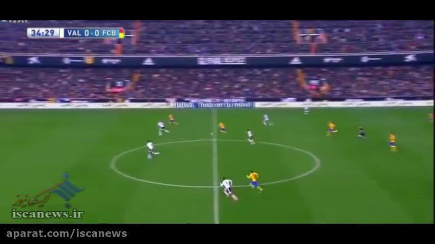 خلاصه بازی : والنسیا 1 - 1 بارسلونا