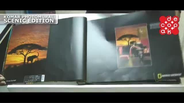 آلبوم کاغذ دیواری کومار Photomural Scenic
