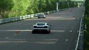 درگPorsche 911 Turbo vs Lamborghini Gallardo LP560 vs Corvette Z06