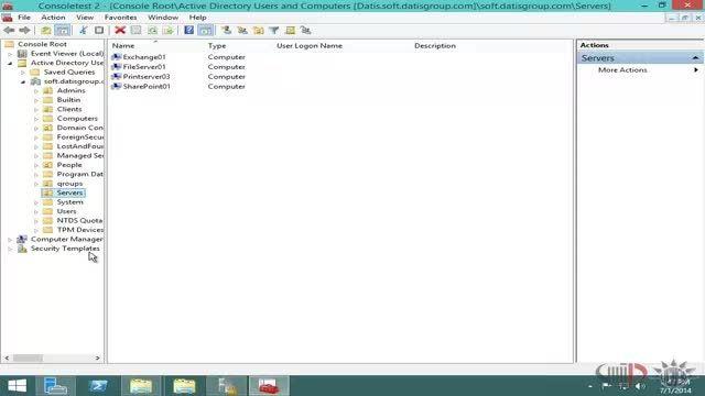 آموزش ویندوز سرور 2012 - مدیریت تنظیمات امنیتی