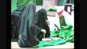 تعزیه شهادت حضرت زهرا(س) حسینیه تخماقلو