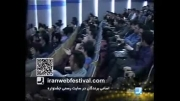 دریافت تندیس برترین وب سایت خبری در جشنواره وب ایران - شبکه سه سیما برنامه به روز