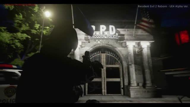 گیم پلی بازی Resident Evil 2 Reborn قسمت اول - زومجی