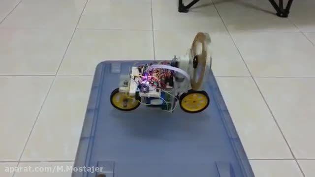 حفظ تعادل دوچرخه رباتیک
