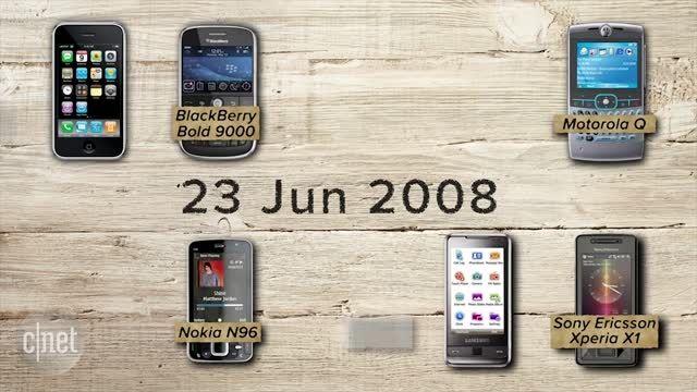 تاریخچه ای مختصر از طراحی گوشی های هوشمند